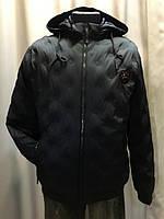 Мужская темно-синяя куртка на весну размер 48
