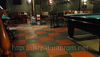 Резиновое напольное покрытие для бильярдных клубов, фото 1