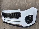 Бампер передний Kia Sportage Киа Спортейдж оригинал 86511-f100bij от2016-19гг, фото 4