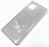 Чохол силіконовий Shiny з блискітками для Samsung Galaxy Note10 Lite N770F / Galaxy A81