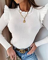 Стильная женская кофта,Ткань - Трикотаж Рубчик Турция,Отменное КАЧЕСТВО!! (42-46)