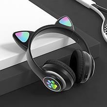 Навушники безпровідні Cat STN-28 Bluetooth гарнітура з мікрофоном і FM радіо MF