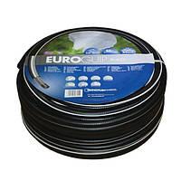 """Поливальний шланг Tecnotubi Euro Black 1/2"""". Шланг для поливу 12 мм 25 м"""