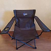 """Раскладной стул с мягким подголовником """"Рыбак Марлин""""."""