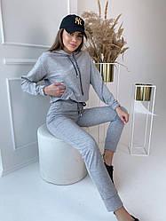 Замшевый костюм / арт.357