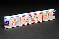 Благовония Sweet Vanilla (Сладкая Ваниль) от фирмы Satya (Сатья) - натуральные, индийские, пыльцевые 15 г