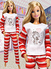 Одежда для кукол Барби (пижама)