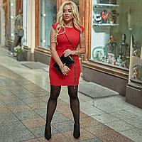 Жіноче плаття,матеріал: агора гусяча,Приталений крій підкреслює силует лапка(50-58), фото 1