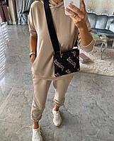 Женский спортивный костюм «База двунитка»,Ткань - двунить Китай,однотонный (42-48), фото 1