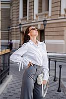 Женская рубашка,материал 100 % хлопок с воротником, на пуговицах (42-48), фото 1
