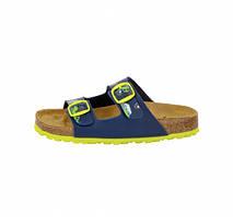 Шлепанцы детские Lico (560143) Синий/желтый