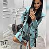 Худи женский на флисе,Ткань : Турецкая 3х нитка на флисе ,фурнитура как на фото БЕЗ ОТЛИЧИЯ!!(42-52)