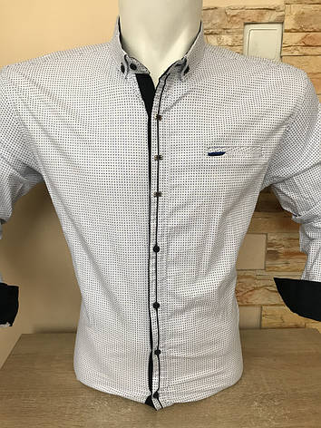 Батальна сорочка стрейч-котон G-port, фото 2