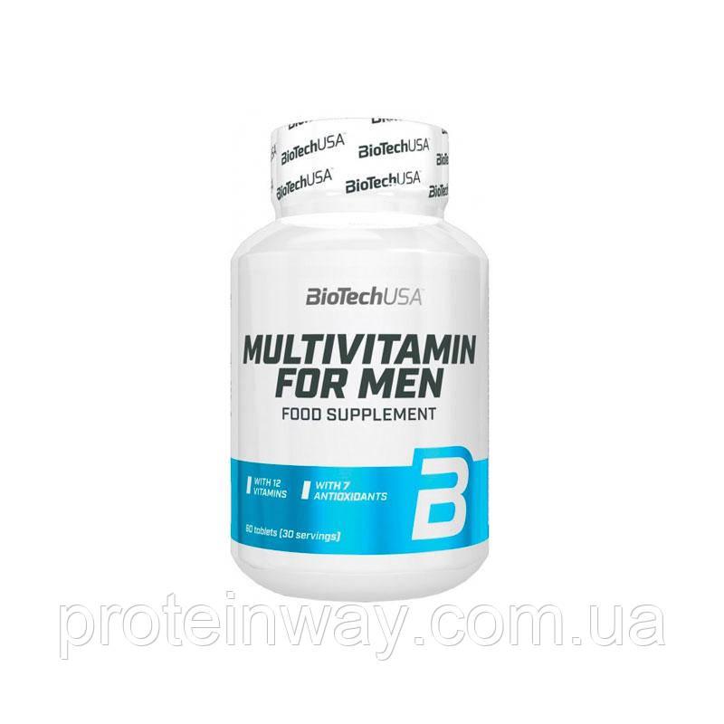 Витамины мужские Biotech Multivitamin for men 60 таб