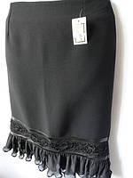 Классические женские трикотажные юбки. Арт. 18019, фото 1