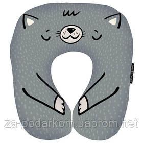 Дорожня подушка Кіт