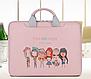 Сумка для ноутбука free and happy pink, фото 4