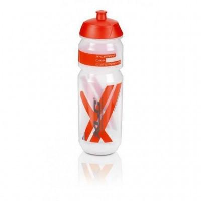 Фляга XLC WB-K03, прозрачно-красная 750 мл (ST)