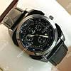 Элегантные наручные часы Hublot 6291 Black/Black Silver/Black 1233