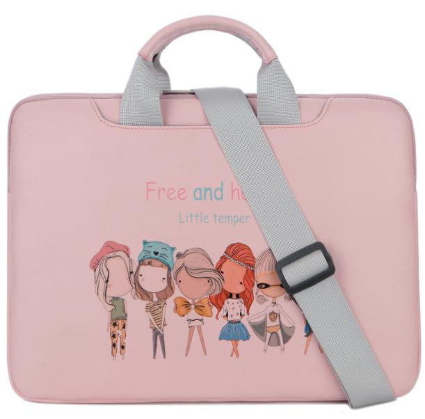Сумка для ноутбука free and happy pink