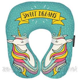 Дорожня подушка Sweet dreams (єдиноріг)