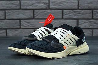 Чоловічі чорні Кросівки Nike Air Presto OFF White