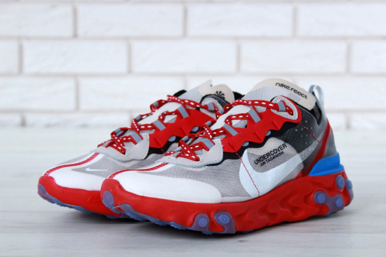 Чоловічі сірі Кросівки Nike Undercover 87