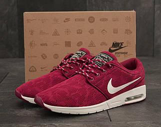 Чоловічі червоні Кросівки Nike Stefan Janoski