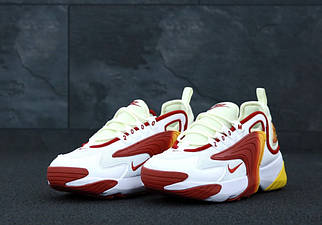 Чоловічі білі Кросівки Nike Zoom 2k
