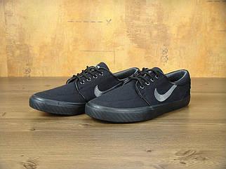 Чоловічі чорні Кеди Nike Stefan Janoski