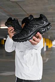 Чоловічі чорні Кросівки Nike Air Max Tn+