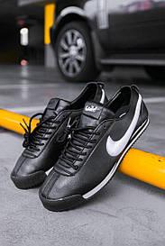 Чоловічі чорні Кросівки Nike Cortez