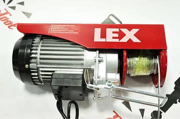 ЭЛЕКТРИЧЕСКИЙ ТЕЛЬФЕР Lex LXEH 500 (250/500kg)