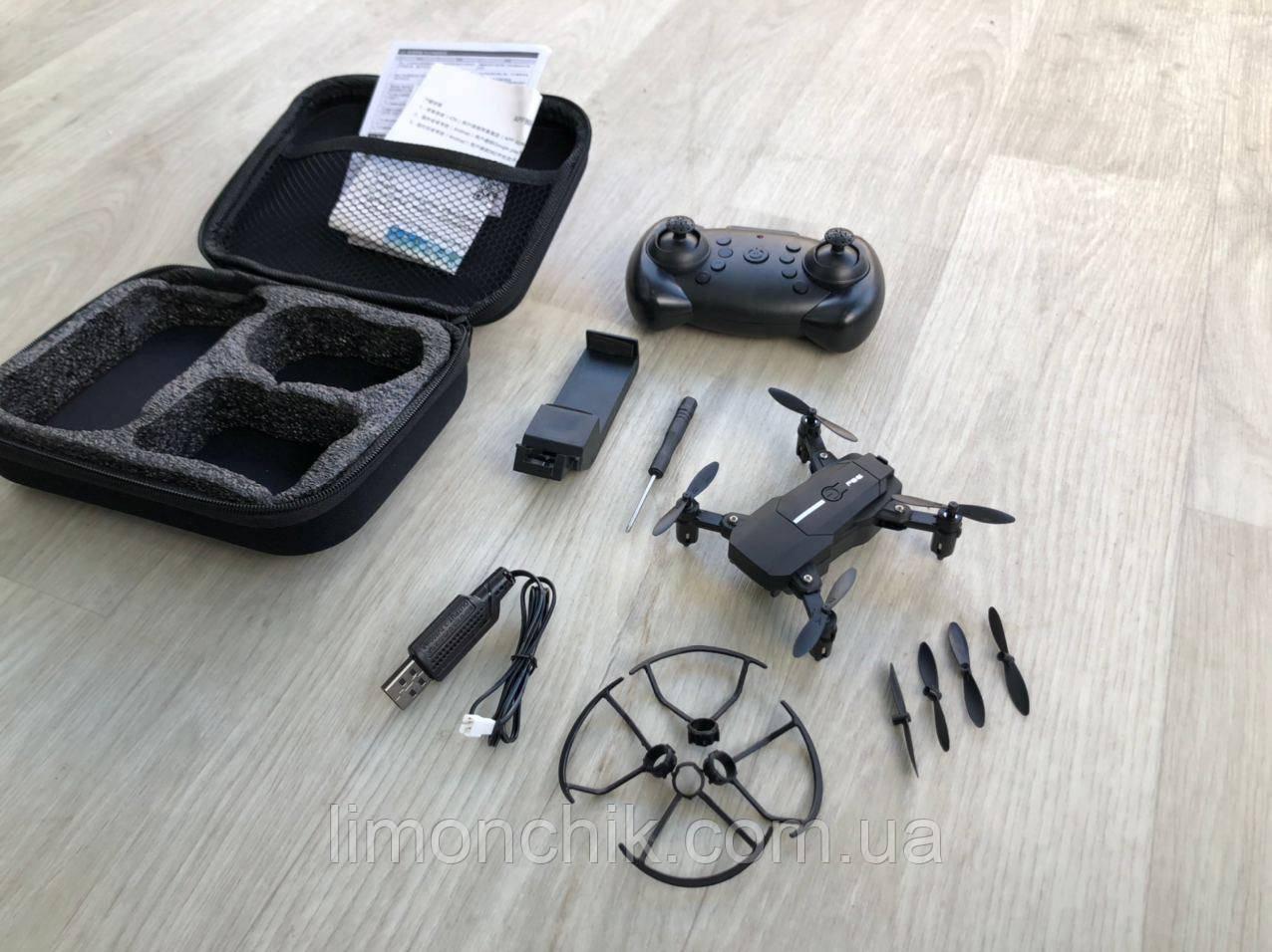 Квадрокоптер Дрон F86 Hd Wi-Fi с камерой 4K складной