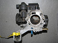 Б/у дроссельная заслонка Opel Corsa B 1.0ми X10XE, 90529471, BOSCH 0205003050