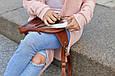 "Сумка-рюкзак жіноча шкіряна ""Sling-bag"", фото 3"