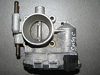 Б/у дроссельная заслонка эл. Opel Astra H/Corsa C/Corsa D/Combo 1.2i 16V Z12XEP/1.4i 16V Z14XEP, 24420536,