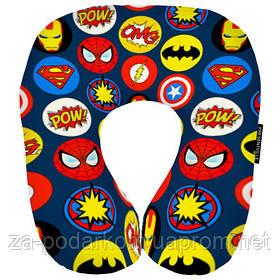 Дорожня подушка Супергерої