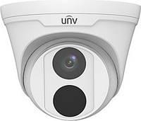 IP-відеокамера купольна Uniview IPC3612LR3-PF40-D