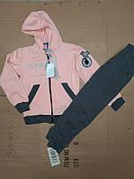 Спортивні костюми для дівчаток тік ток на ріст:128,134,140,146,152 см