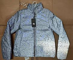 Весняні світловідбиваючі курточки підліткові на ріст:146,152,158,164 см