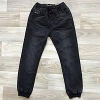 Черные джинсы на резинке 6-12 лет. Венгрия - Grace