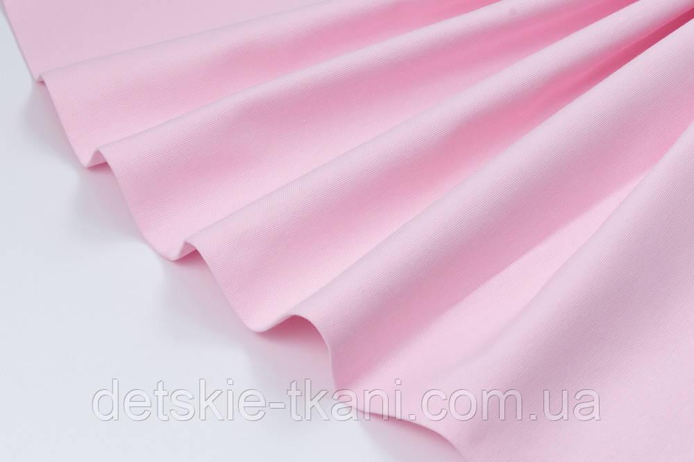 Лоскут однотонной ткани Duck цвет классический светло-розовый 50*45 см