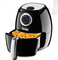 Фритюрница для приготовления фри-картофеля без масла 1350 Вт DSP Черный (KB-2020)