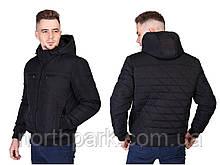 Молодіжна чоловіча демісезонна куртка з поясом Norway 021x
