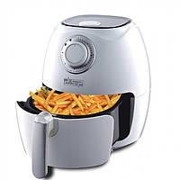 Фритюрница для приготовления фри-картофеля без масла 1350 Вт DSP Белый (KB-2020)