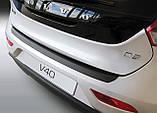 Пластиковая накладка на задний бампер для Volvo V40 2012-2016, фото 2