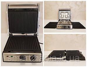 Гриль електричний Crownberg CB 1041 з функцією контролю температури [2000 ВТ] сьемная протвень