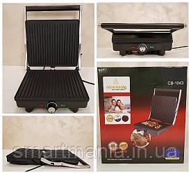 Электрогриль прижимной Crownberg CB-1043  2000 ВТ