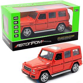 Іграшка машина модель Мерседес Бенц (Mercedes-Benz).Залізні іграшкові машинки Гелендваген (Гелик)від Автопром